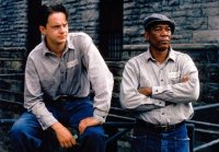 Tim Robbins & Morgan Freeman in 'The Shawshank Redemption' (1994)