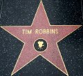 Tim Robbins' star on the Hollywood 'Walk of Fame'