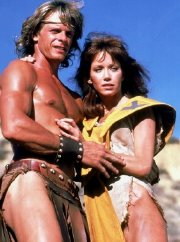 Tanya Roberts & Marc Singer in 'The Beastmaster'