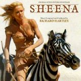 Tanya Roberts pictured on the cover of the soundtrack cd for 'Sheena'