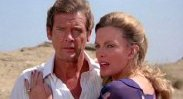 Roger Moore and Cassandra Harris  in 'For Your Eyes Only'