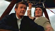 Roger Moore and Desmond Llewellyn in 'Octopussy'
