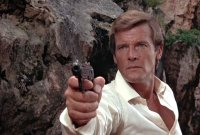 Roger Moore as James Bond in 'The Man With the Golden Gun'