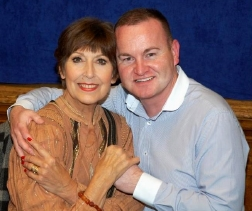 Andrew Ross with Anita Harris