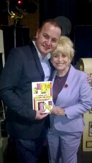 Andrew Ross with Barbara Windsor