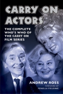 'Carry On Actors' by Andrew Ross (hardcover published 2011)