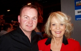 Andrew Ross with Sherrie Hewson
