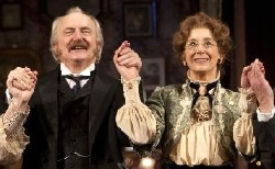 Simon Rouse & Maureen Lipman in 'When We Are Married' at the Garrick Theatre