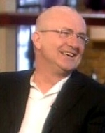 Simon Rouse on 'Today with Des and Mel' in 2004