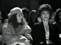 Jennifer Saunders & Joan Collins in 'In the Bleak Midwinter'