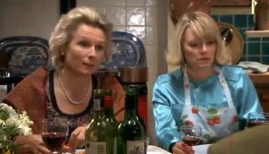 Jennifer Saunders & Suzy Aitchison in 'Jam and Jerusalem'