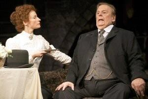 John Savident & Carolyn Backhouse in 'Hobson's Choice'