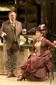 John Savident & Judith Paris in 'Hobson's Choice'