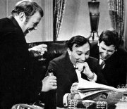 John Savident, Lee Montague & Desmond Newling in 'Seven Deadly Sins'