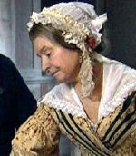 Prunella Scales as Charles Dickens' mother