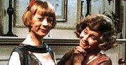 Prunella Scales with Geraldine McKewan in 'Mapp and Lucia'