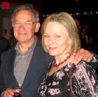 Simon Schama with his wife Ginny Papaioannou