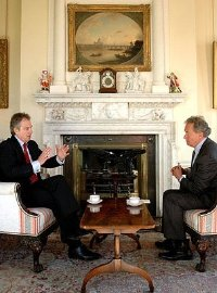 Simon Schama interviews Tony Blair at No.10 Downing Street