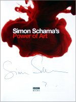 Signed copy of Simon Schama's book 'The Power of Art'