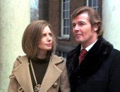 Catherine Schell & Roger Moore in 'The Persuaders!'