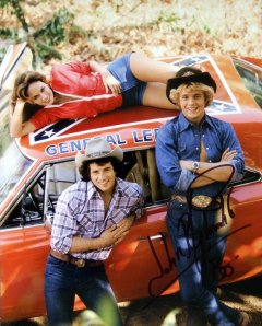 John Schneider signed photo from 'The Dukes of Hazzard'