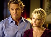 John Schneider & Josie Bissett in 'The Secret Life of the American Teenager'