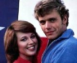 John Schneider & Lee Purcell in 'Eddie Macon's Run'