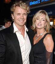 John Schneider with his second wife Elly