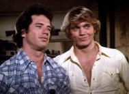 Tom Wopat & John Schneider in 'The Dukes of Hazzard'