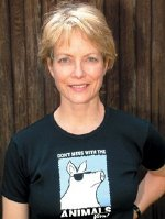 Jenny Seagrove is a passionate animal rights activist