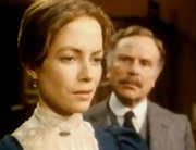 Jenny Seagrove and Edward Hardwicke in 'The Sign of Four'