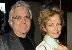 Jenny Seagrove with her partner, the impresario Bill Kenwright