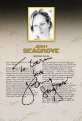 Jenny Seagrove signed programme for 'A Country Girl'