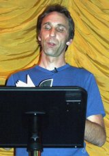 Will Self reads from 'The Book of Dave' at Nottingham in June 2006