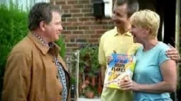 William Shatner in one of his Kelloggs bran flakes commercials for British TV
