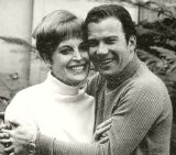 William Shatner with his first wife Gloria Rand
