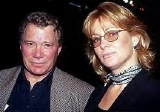 William Shatner with his third wife Nerine Kidd