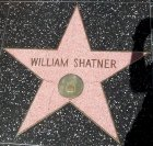William Shatner's star on the Hollywood Walk of Fame