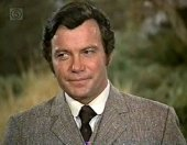 William Shatner as George Stapleton in 'The Hound of the Baskervilles'