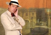 Simon Shepherd publicity image for 'Our Man in Havana'