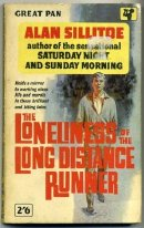 First paparback edition of 'The Loneliness of the Long Distance Runner'