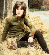 Elisabeth Sladen in medieval clothes as she finds herself in the 12th century in 'The Time Warrior'