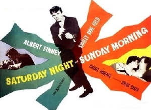 Film poster for Saturday Night and Sunday Morning