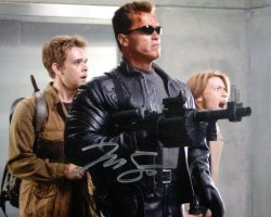 Nick Stahl signed photograph from 'Terminator 3: The Rise of the Machines'