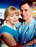 Alison Steadman & Barrie Rutter in 'Fat Friends'