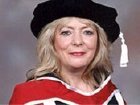 Alison Steadman received an honorary degree from the University of Essex in 1997