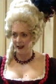 Alison Steadman as Madame de Plonge in 'Let Them Eat Cake'