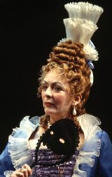 Alison Steadman as Lady Fancifull in 'The Provok'd Wife'