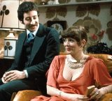 Alison Steadman & Tim Stern in 'Abigail's Party'