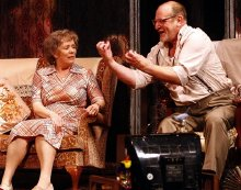 Alison Steadman & David Troughton in 'Enjoy'